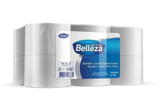 12'li Belleza Standart JumboTuvalet Kağıdı