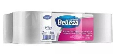 Belleza Standart Tek Çekmeli Tuvalet Kağıdı 6'lı