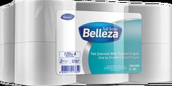 Diversey - 12'li Belleza Tek Çekmeli Mini Tuvalet Kağıdı