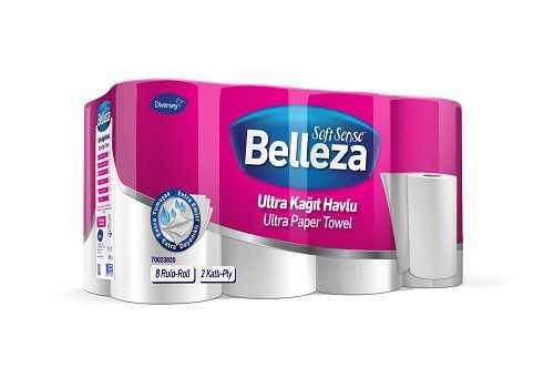 24'lü Belleza Ultra Havlu