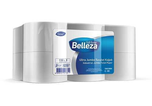 12'li Belleza Ultra Jumbo Tuvalet Kağıdı