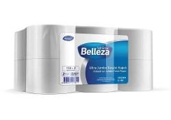 Diversey - 12'li Belleza Ultra Jumbo Tuvalet Kağıdı