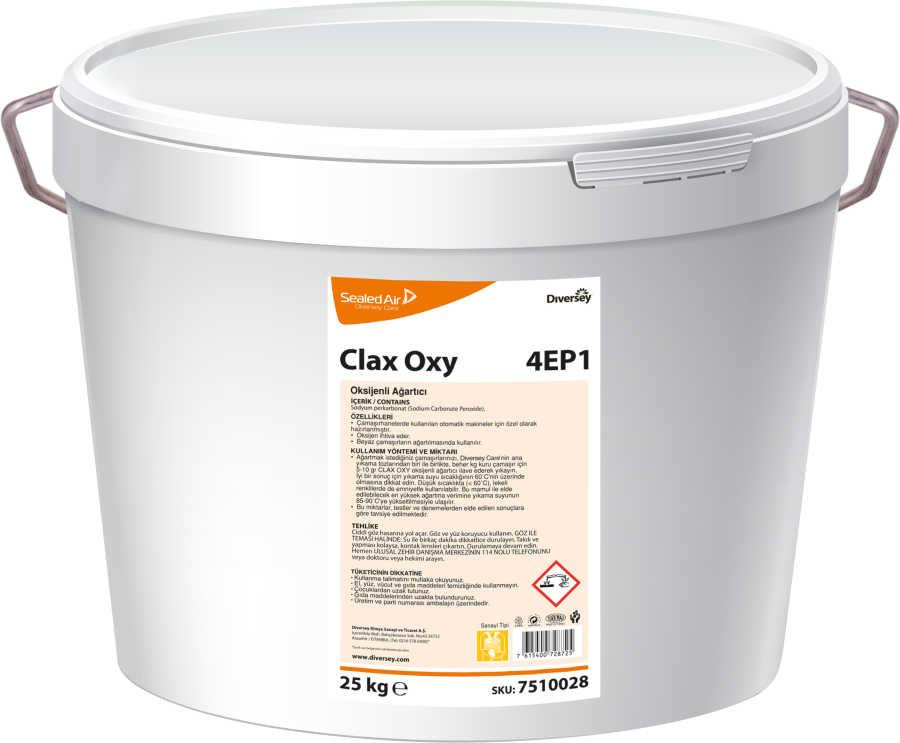 Clax Oxy 4EP1 Oksijenli Toz Ağrıtıcı 25 kg