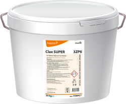 Diversey - Clax Super 3ZP6 Az Köpüren Ağartıcılı Ana Yıkama Deterjanı 20 kg