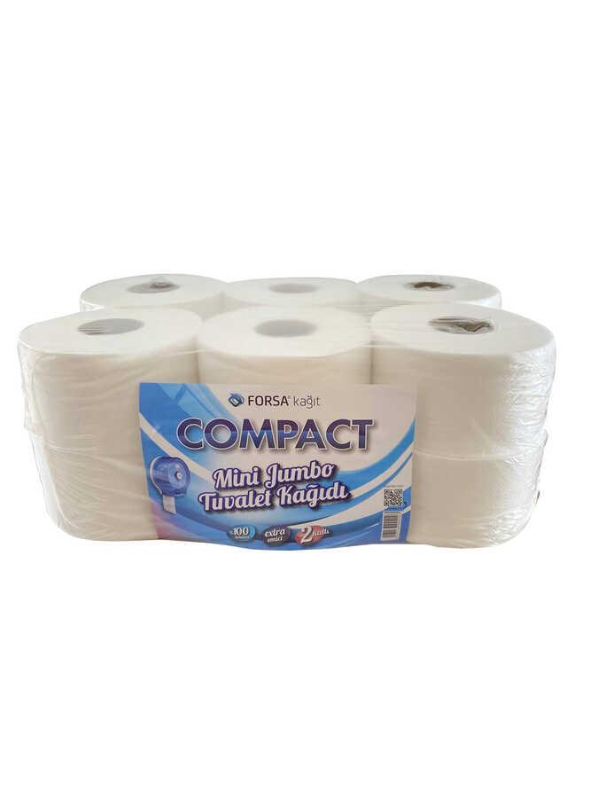 Compact Mini Jumbo Tuvalet Kağıdı