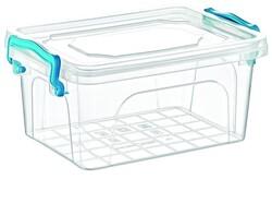 Çankaya Plastik - Dikdörtgen Saklama Kabı No 1 ( 1 LT )