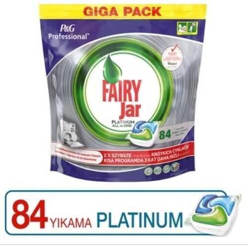 Fairy Jar 84 'lü Platinum Bulaşık Makinesi Deterjanı