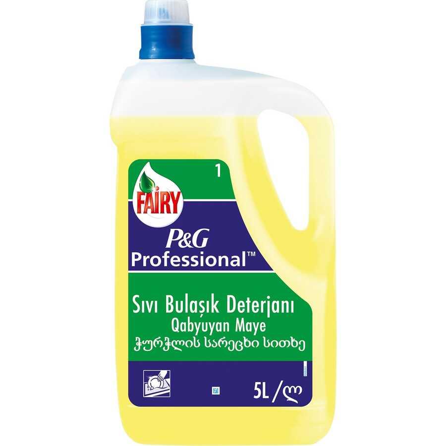 Fairy Sıvı Bulaşık Deterjanı Limonlu 5 Litre