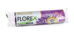 Florex - Florex Lavanta Kokulu Büzgülü Büyük Boy Çöp Torbası
