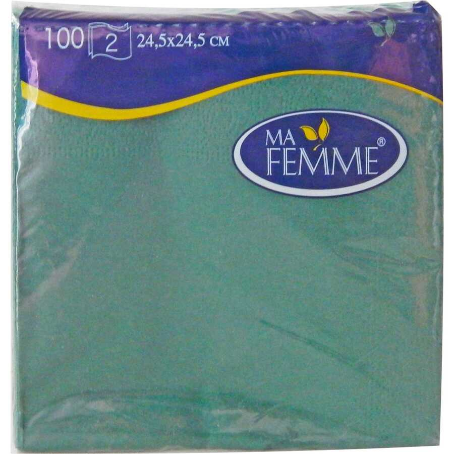Ma Femme 24,5x24,5 Cm Yeşil Peçete