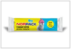 Norpack - (50Rulo) Norpack Standart Büyük Çöp Poşeti