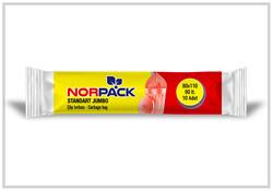 Norpack - (20Rulo) Norpack Standart Jumbo Çöp Poşeti