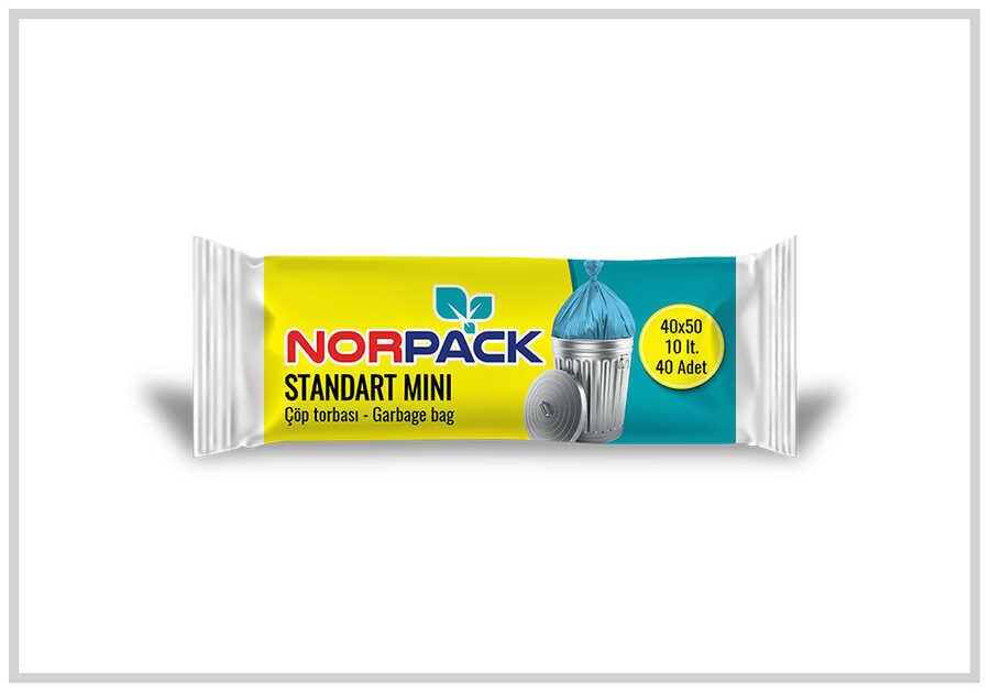 (50 Rulo) Norpack Standart Mini Çöp Torbası