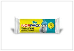 Norpack - (50 Rulo) Norpack Standart Mini Çöp Torbası