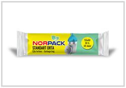 Norpack - (50 Rulo) Norpack Standart Orta Çöp Poşeti