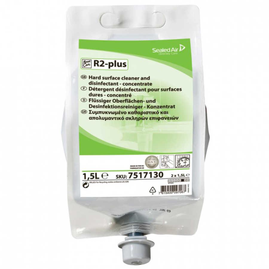 Room Care R2 Plus Çok Amaçlı Konsantre Yüzey Dezenfektanı 1.5lt (2'li)