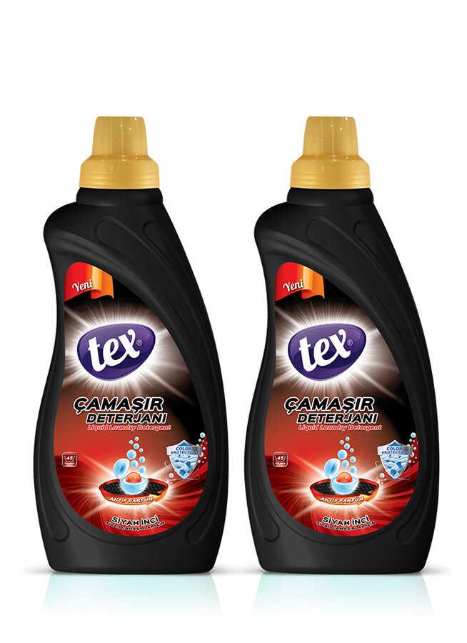 2'li Sıvı Çamaşır Deterjan Siyah İnci