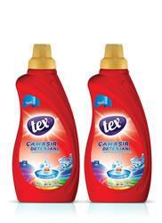 Tex - 2'li Sıvı Çamaşır Deterjan Canlı Renkler