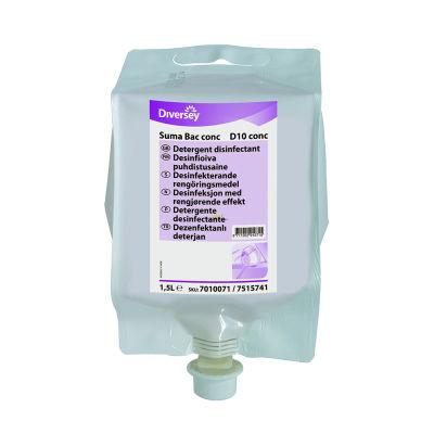 Suma Bac Conc D10 Konsantre Deenfektanlı Deterjan 1,5KG