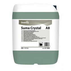 Diversey - Suma Crystal A8 Sert Sular İçin Bulaşık Makinesi Durulama Maddesi 20kg