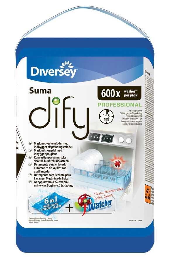 SUMA Dify Tezgah Altı Bulaşık Makinaları İçin Deterjan 0,75GR