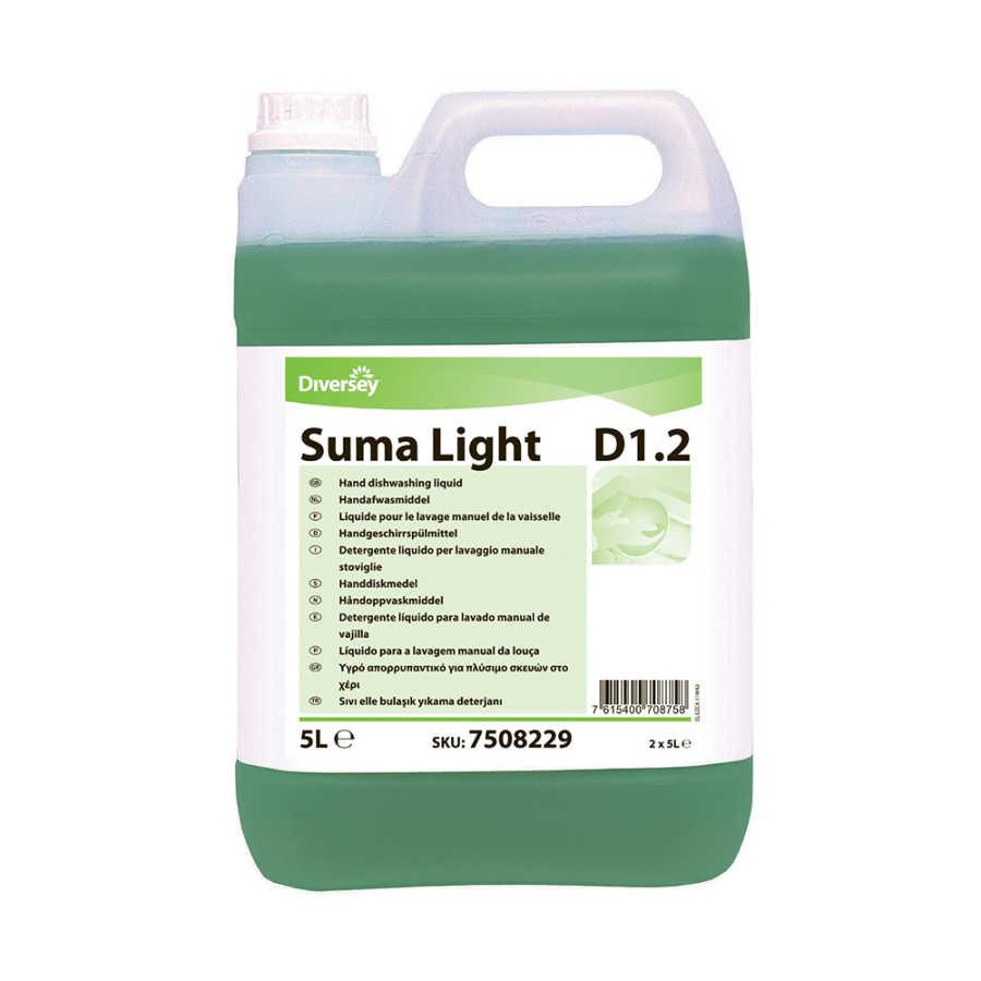 Suma Light D12 Elde Bulaşık Yıkama Deterjanı 5Lt
