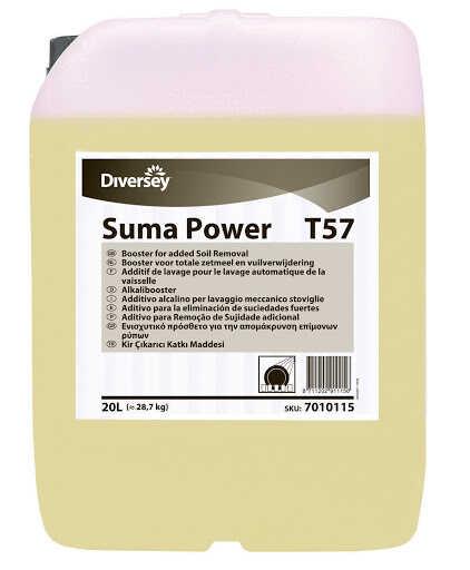 Suma Power T57 Bulaşık Makineleri İçin Nişasta Çözücü 29,00kg
