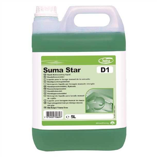Suma Star D1 Elde Bulaşık Yıkama Maddesi 5,20 KG