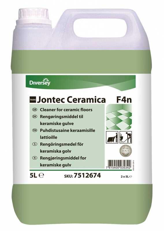 Taskı Jontec Ceramica Cilasız Parlak Yüzey Temizleme 5 kg