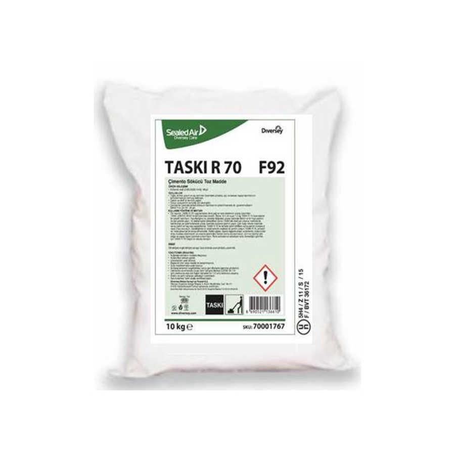 Taskı R70 Kireç ve Çimento Temizleyici Toz Ürün 10 KG