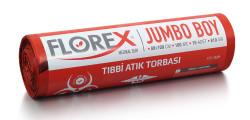 Florex - Tıbbi Atık Baskılı Jumbo Boy Çöp Torbası