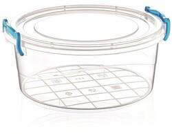 Çankaya Plastik - Yuvarlak Saklama Kabı (1,2 Lt)